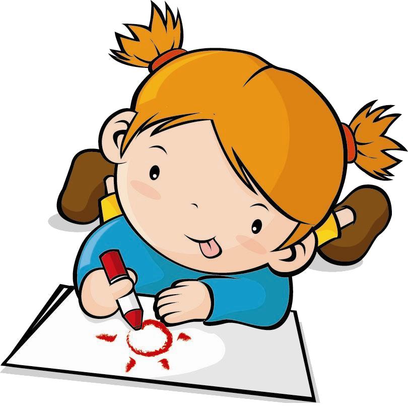 Clip children transprent png. Drawing clipart childrens art