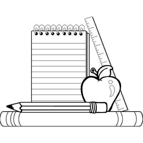 For school layouts free. Draw clipart coloring supply