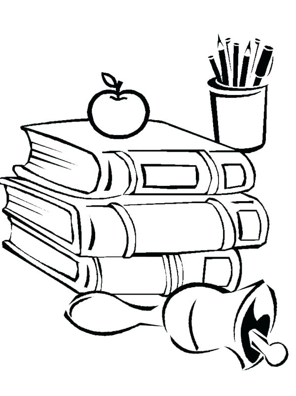 Draw clipart coloring supply. Download school supplies drawings
