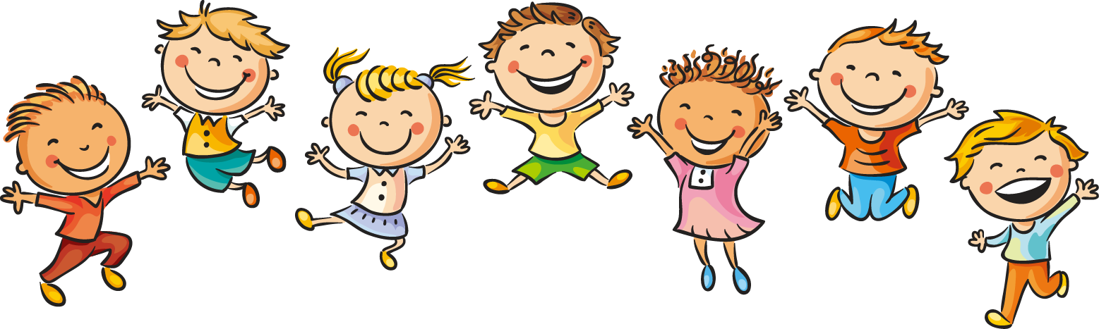 Draw clipart dancing kid. Drawing child happiness illustration