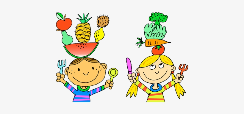 Eating food drawing at. Draw clipart healthy child