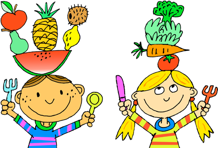 Draw clipart healthy child. Food drawing at paintingvalley