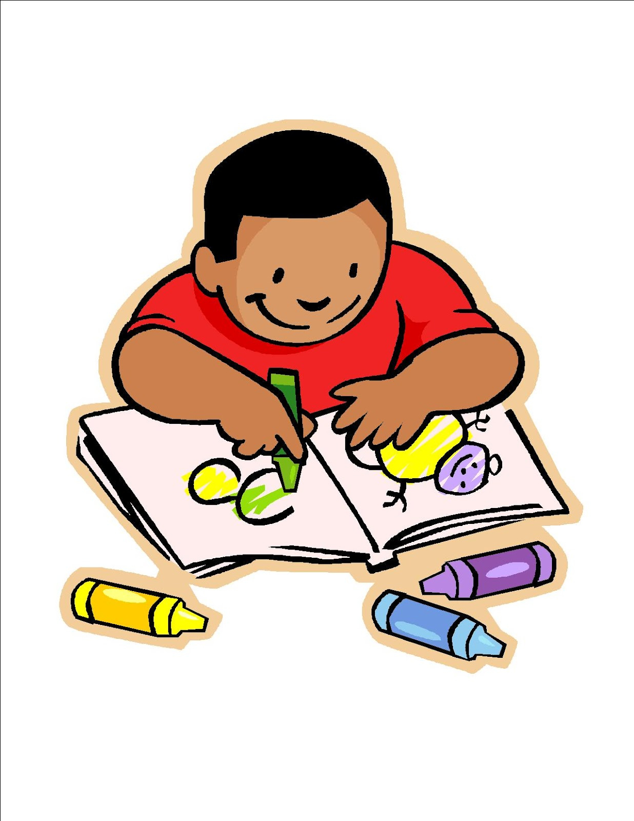 Kids at paintingvalley com. Drawing clipart childrens art