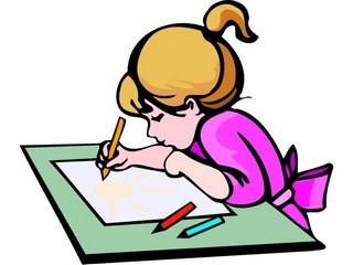 Draw clipart kid draw. Kids drawing clipartninja clipartbarn