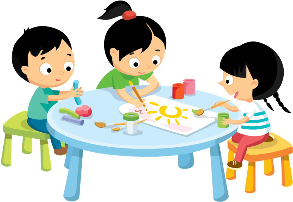 Kids painting at getdrawings. Draw clipart kid draw