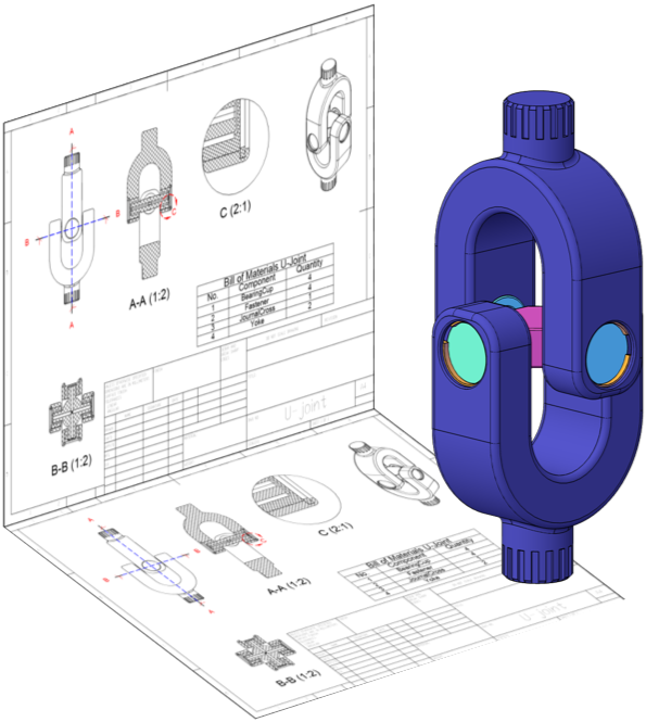 Draw clipart mechanical drafting.  d direct modeling