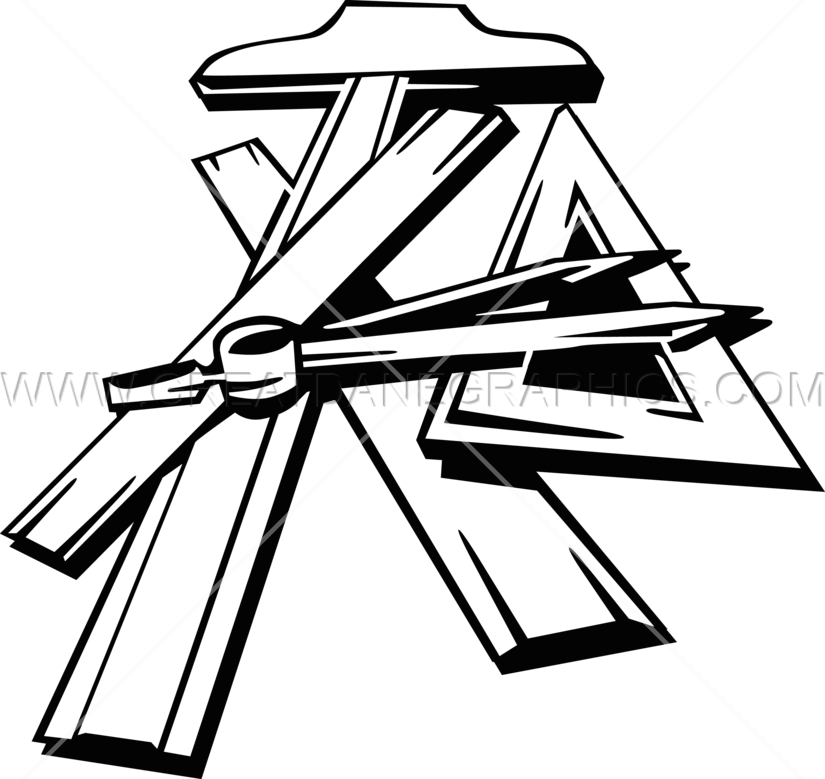 collection of tools. Drawing clipart mechanical drafting