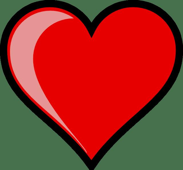 Clip art of heart. Heartbeat clipart logo