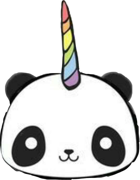 Popular and trending pandicorn. Draw clipart studious