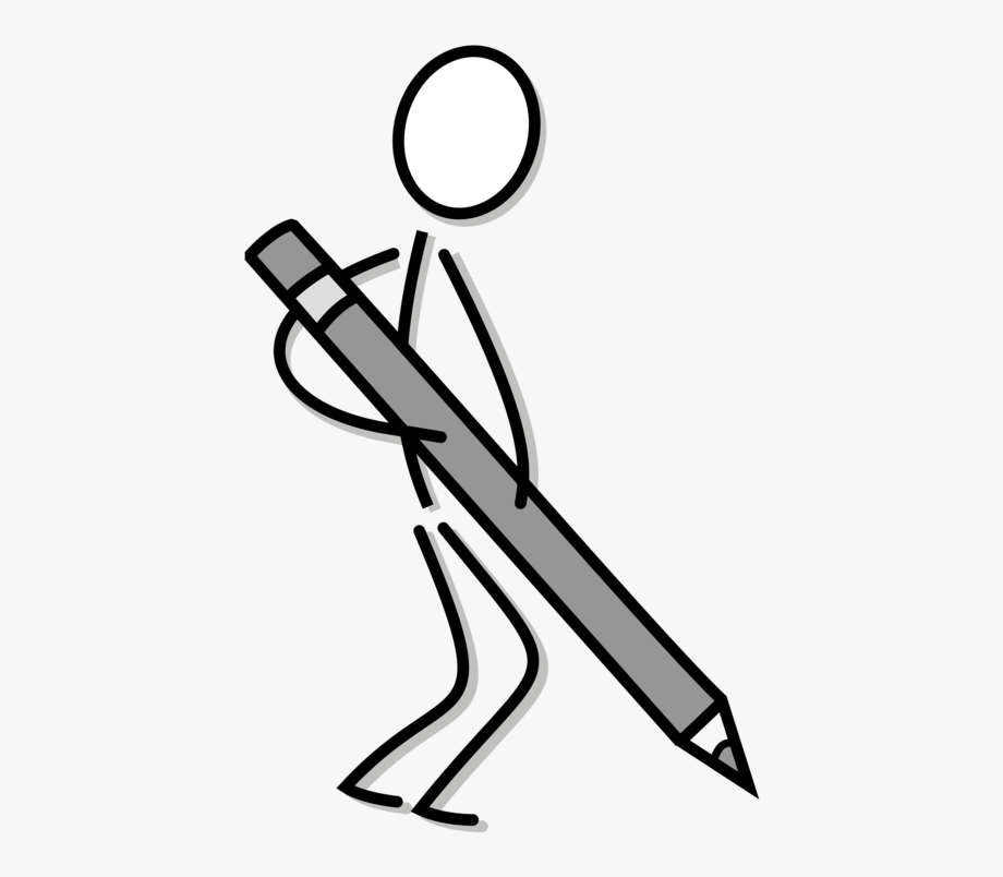 Draw clipart writing. Svg library stock drawing