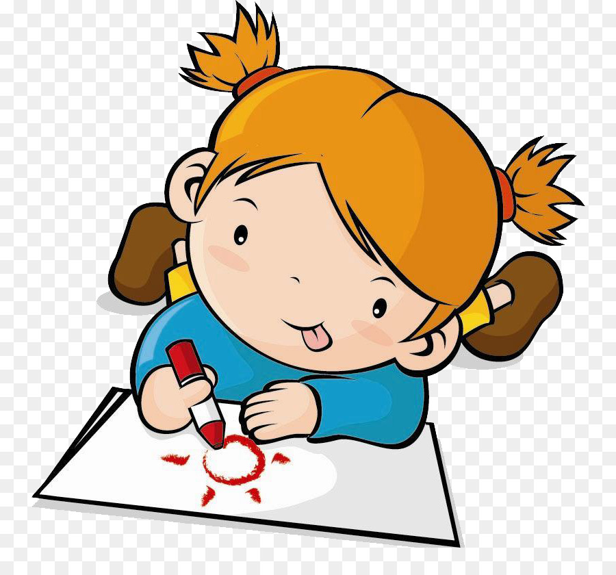 Kids drawing clip art. Draw clipart