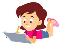Girl at getdrawings com. Drawing clipart