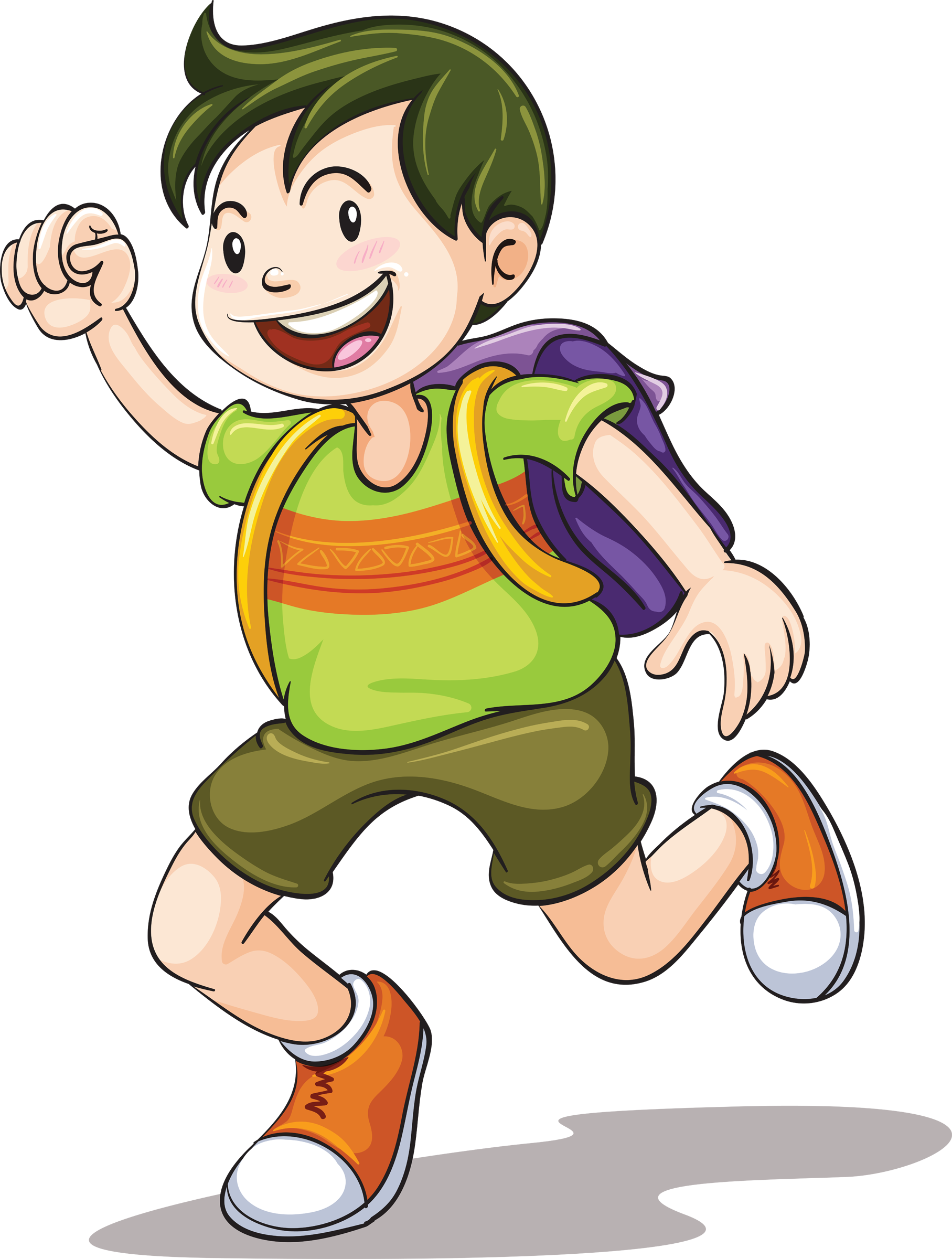 Drawing clip art transprent. Luggage clipart boy