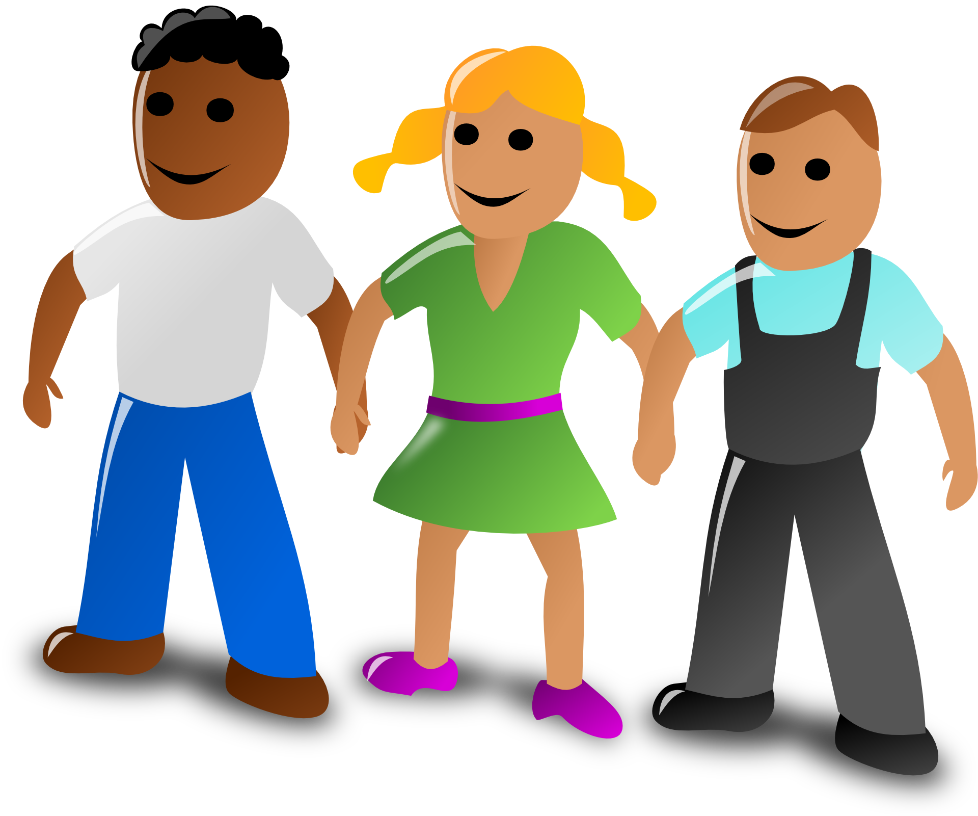 Working clipart group communication. Drawing holding hands clip