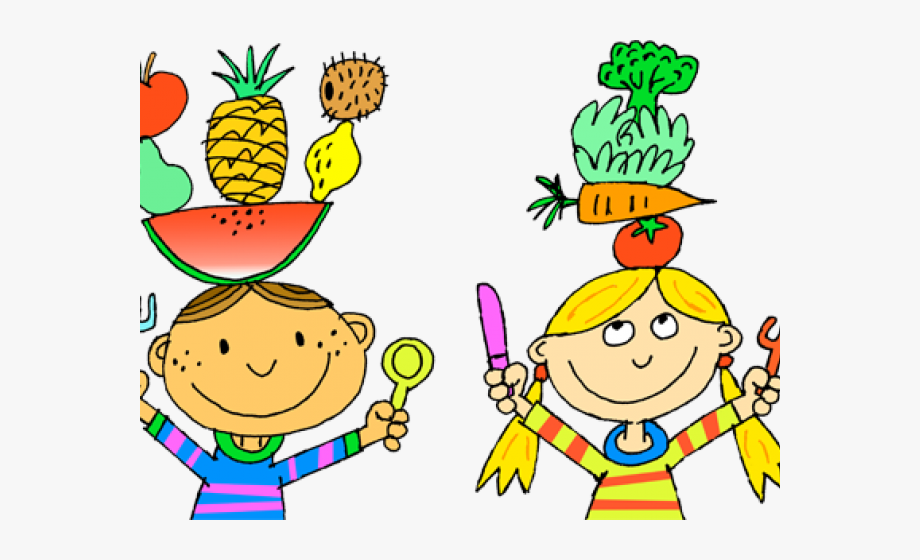 Drawing eat food . Healthy clipart healthy child