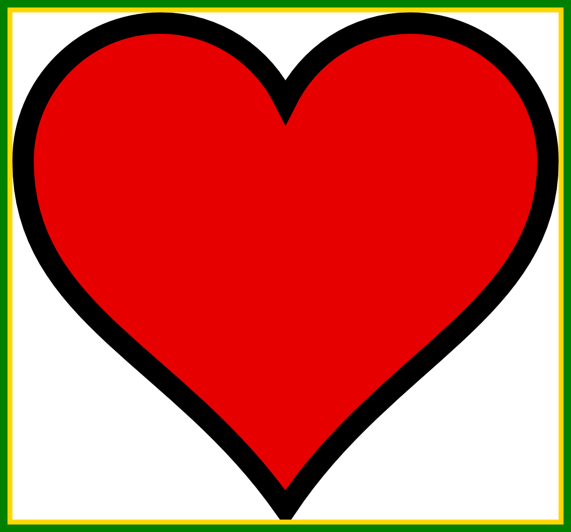 Best image result for. Drawing clipart heart
