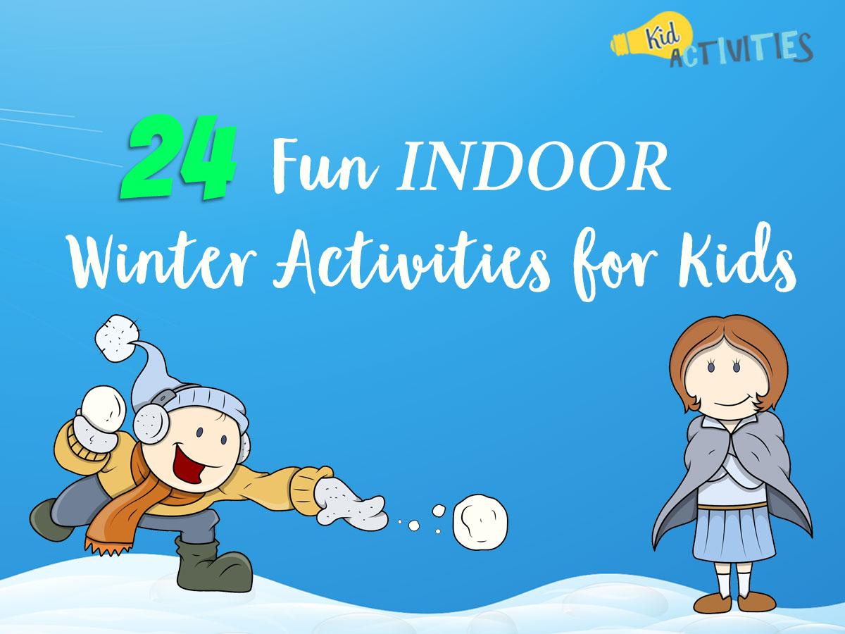 fun indoor winter. Games clipart camp game
