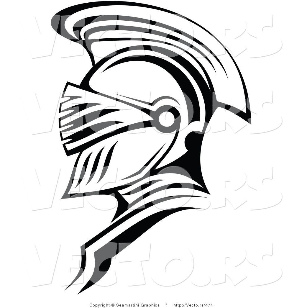 Panda free images . Spartan clipart knight helmet