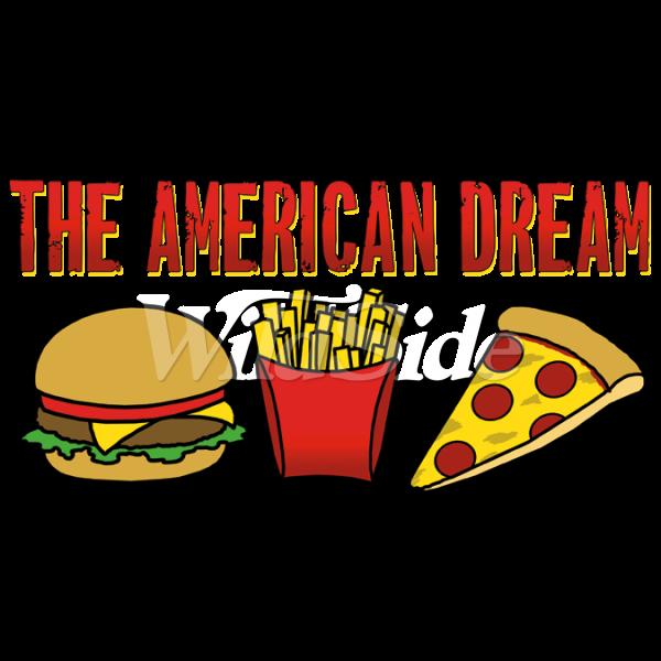 The american dream fries. Shop clipart burger store