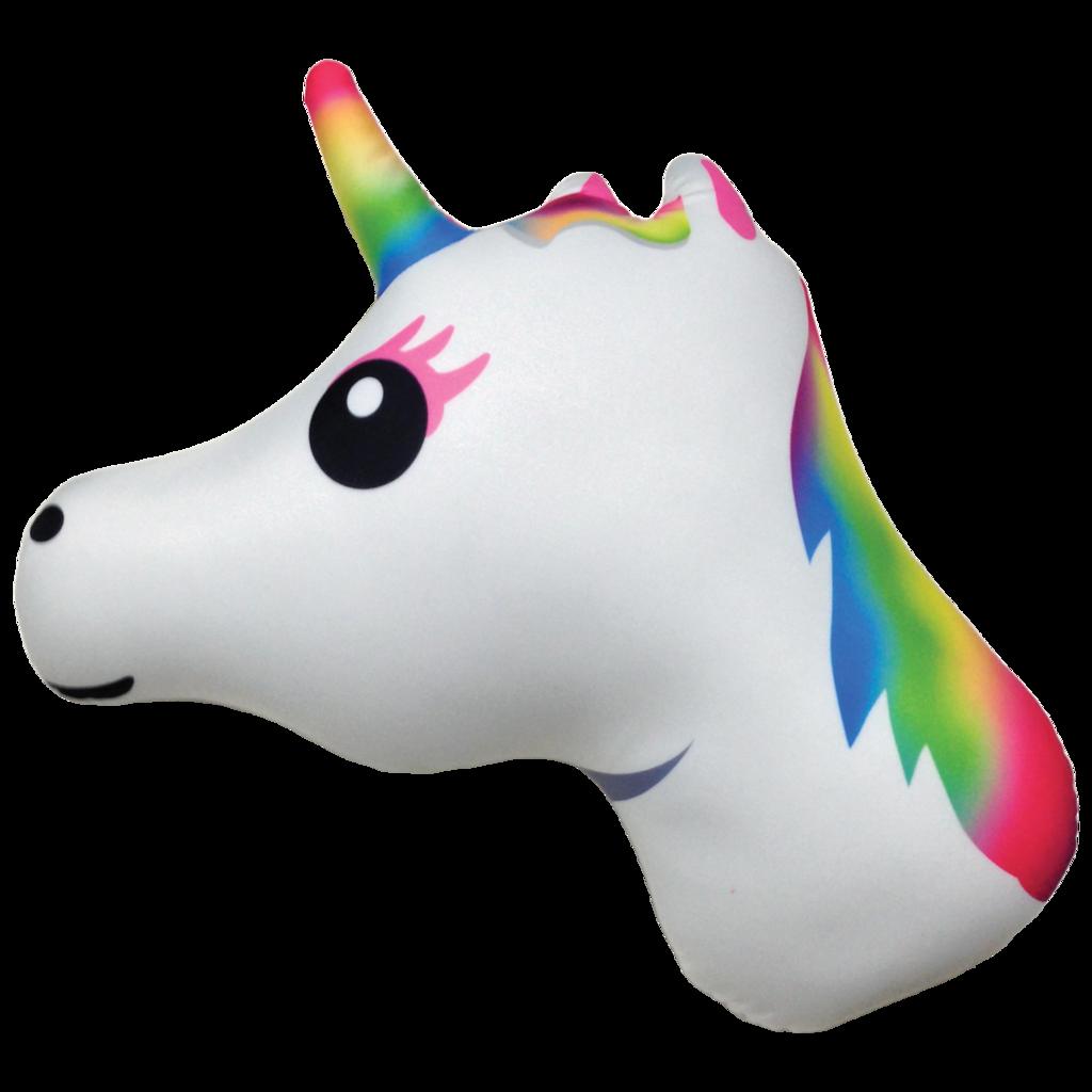Unicorn emoji microbead emerson. Pillow clipart pellow