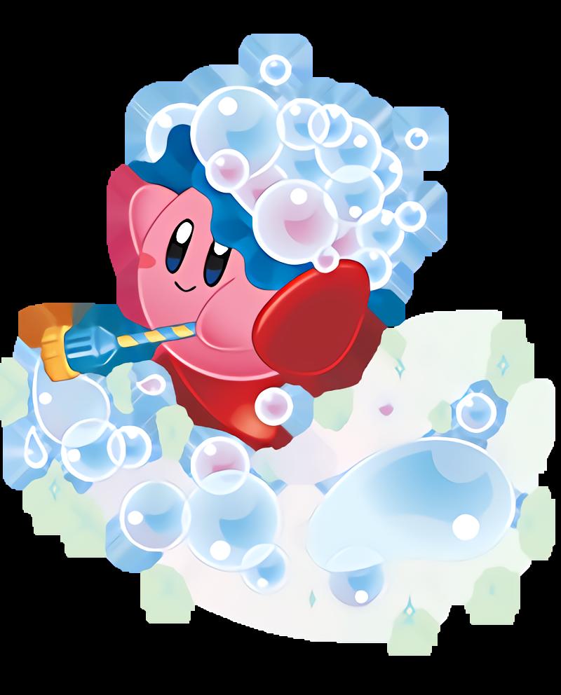 Dreaming clipart bubble head. Kirby wiki fandom powered