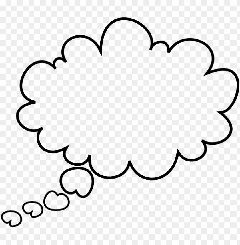 Dream clipart bubbles. Thought bubble png image