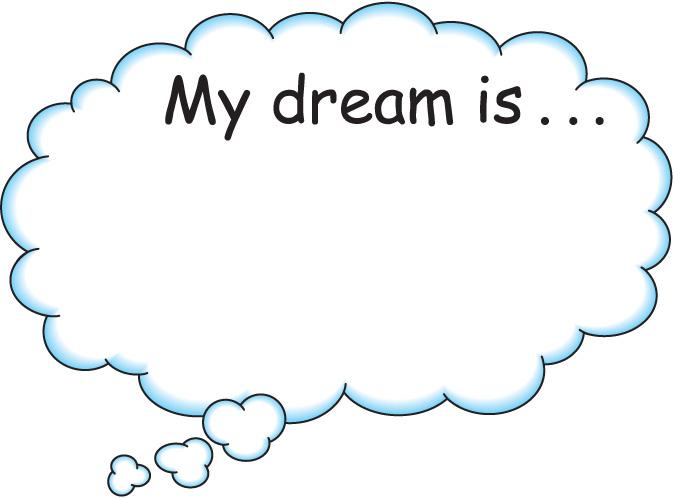 Dream clipart bubbles. Free dreaming bubble download