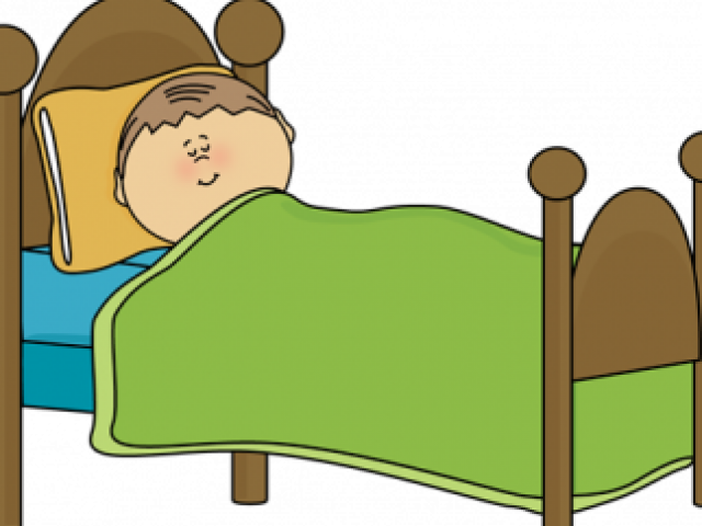 Dream clipart childrens bed. Dreaming sleeping in