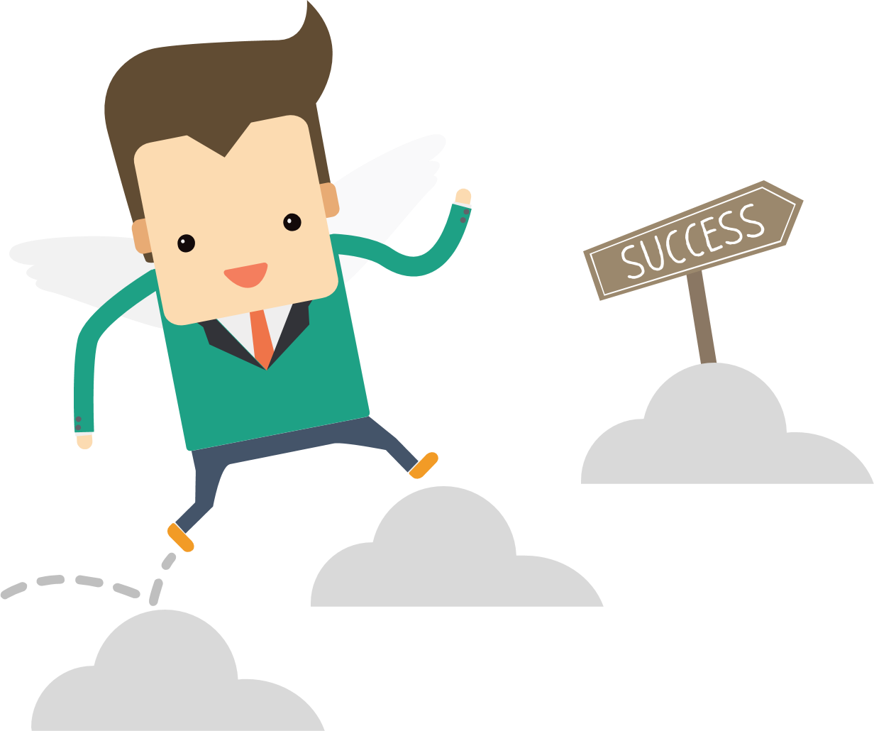 Delta success aasuccess we. Manager clipart successful