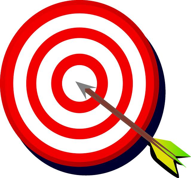 Vision clipart goal.  steps to set