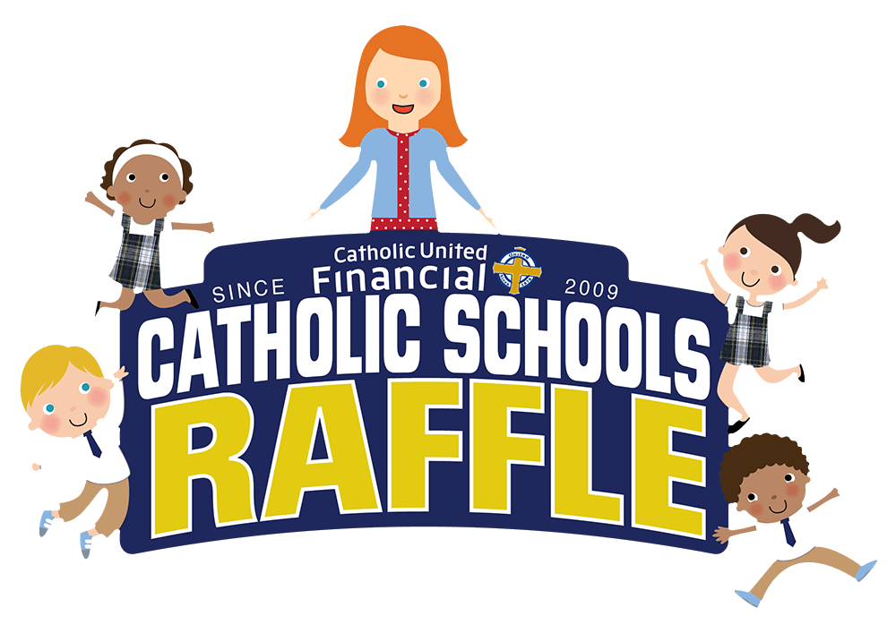Volunteering clipart catholic. Raffle results united financial