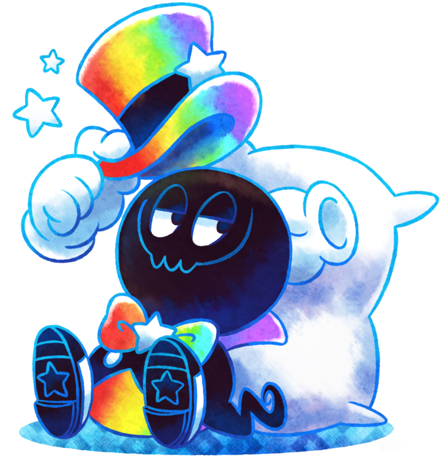 Rainbow maestro joins the. Dreaming clipart final thought