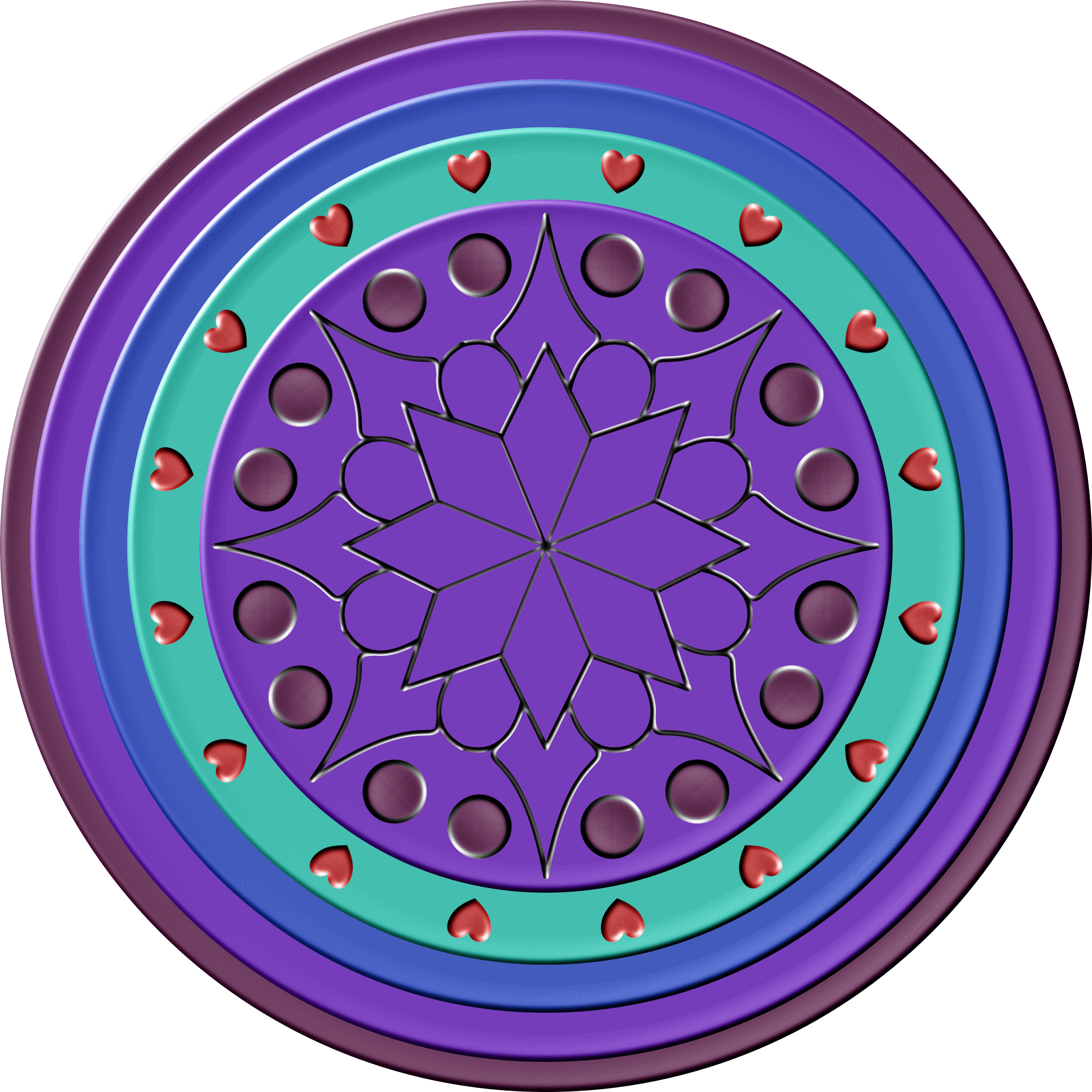 Dreamcatcher clipart purple. Dream catcher mandala icons