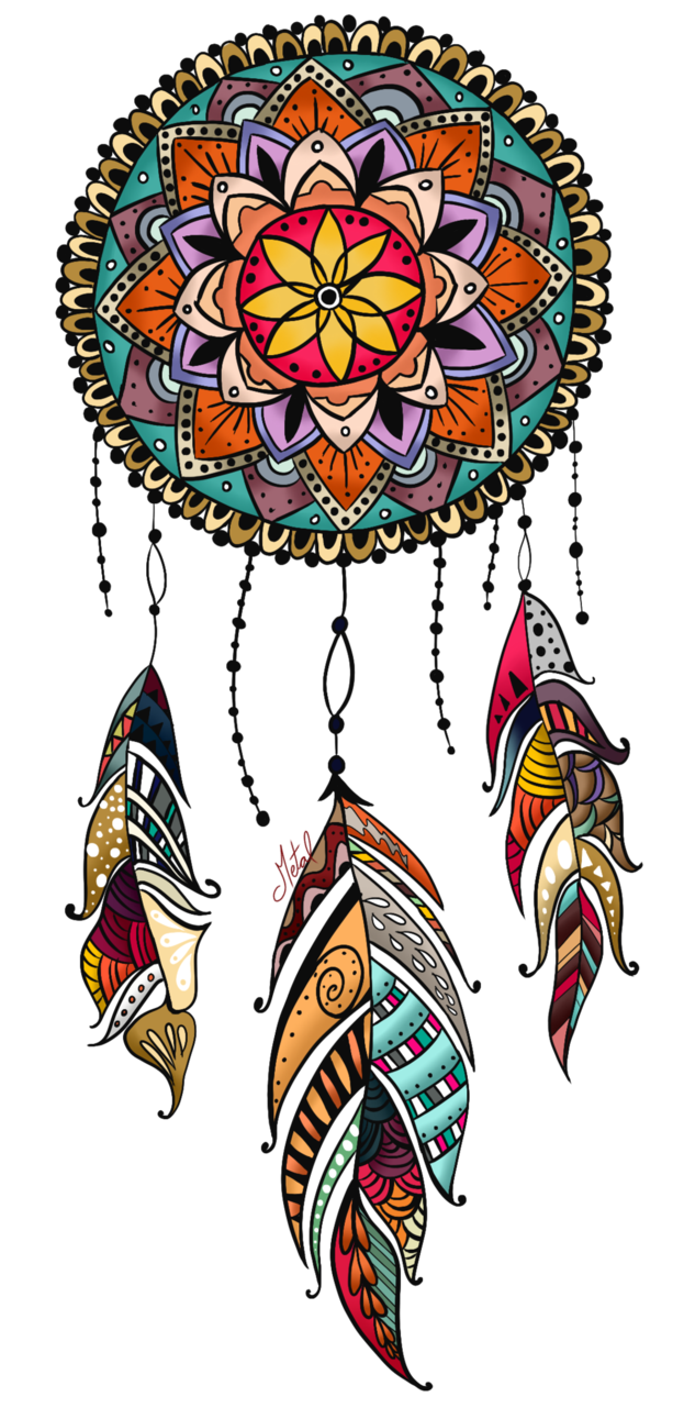 Wolves clipart boho. Living a dream by
