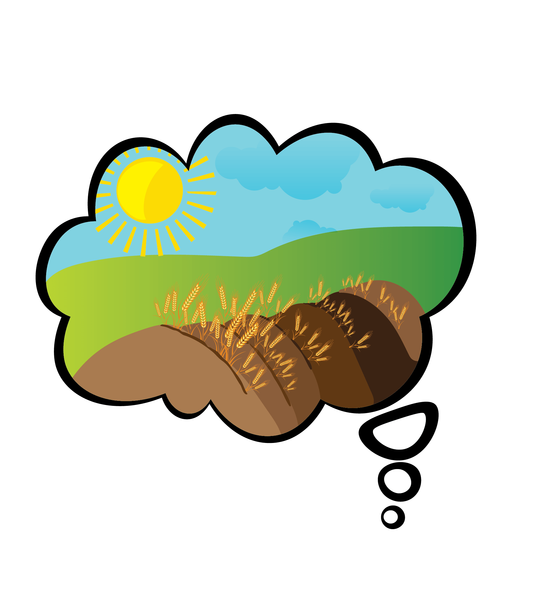 The dream cultivating possibilities. Farming clipart agriculture science