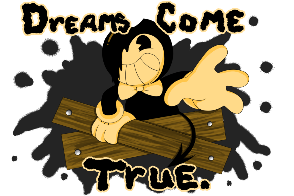 Bendy and the ink. Dream clipart lucid