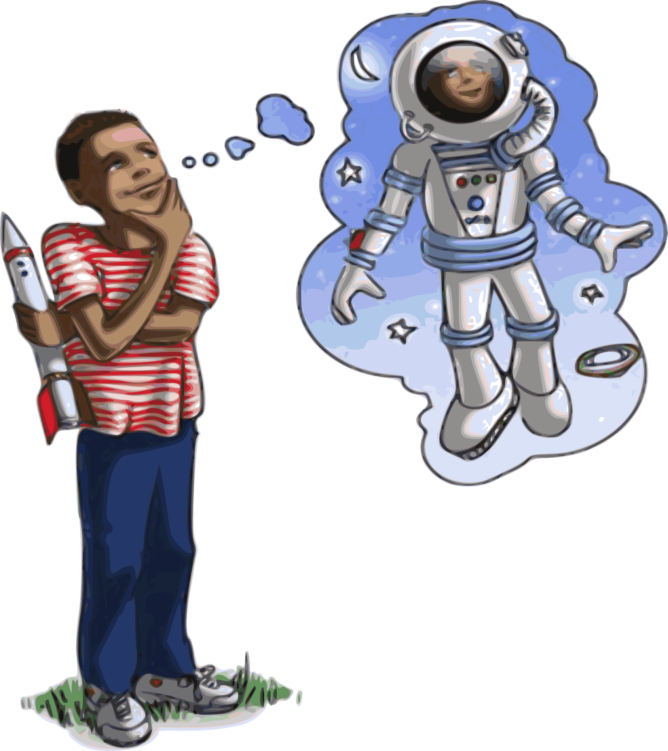 Spaceship clipart astronaut. Dreams big image png