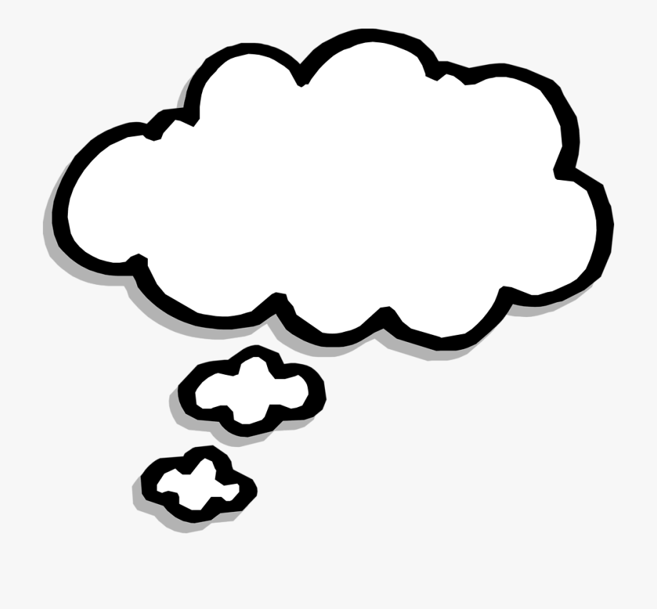 Dreaming clipart talk bubble. Great free thought download