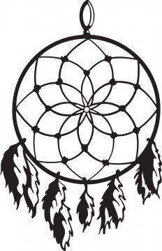 Pix for dreamcatcher all. Dreaming clipart simple