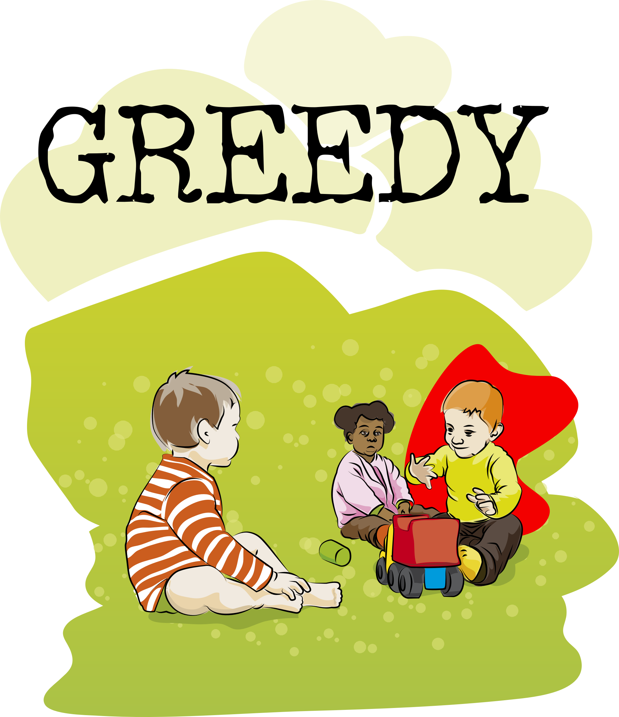 Want clipart greedy child. Jpg gallery of dreams