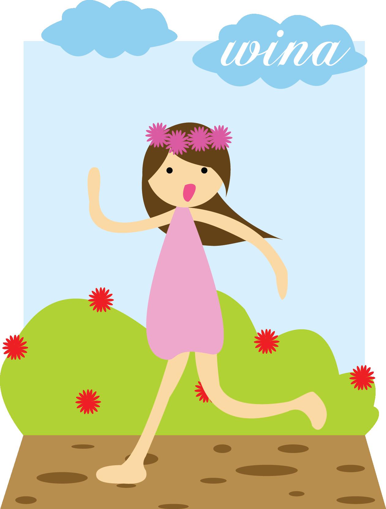 Run little art pinterest. Dreamcatcher clipart baby girl