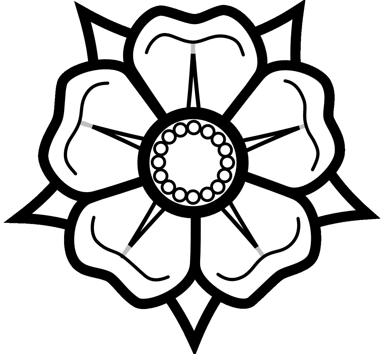 Heraldisch lippische rose black. Dreamcatcher clipart bead tattoo