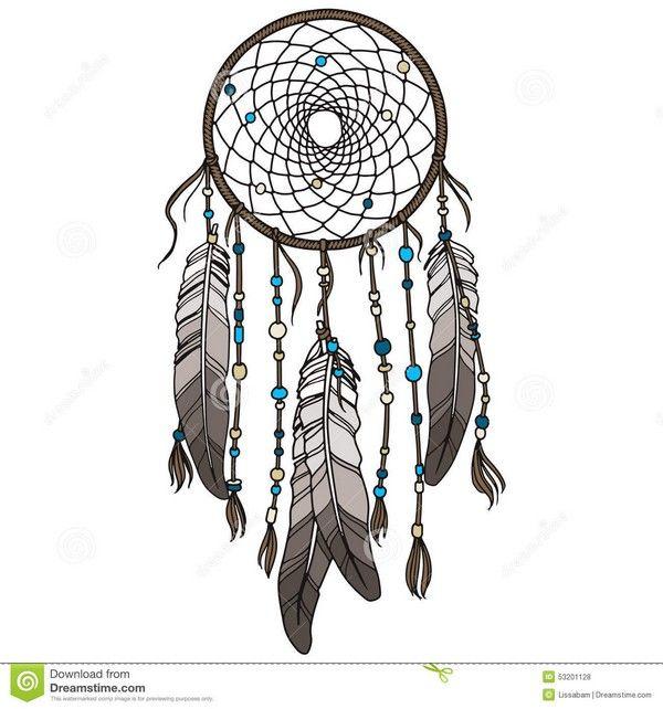 Apache tattoos dream . Dreamcatcher clipart bead tattoo