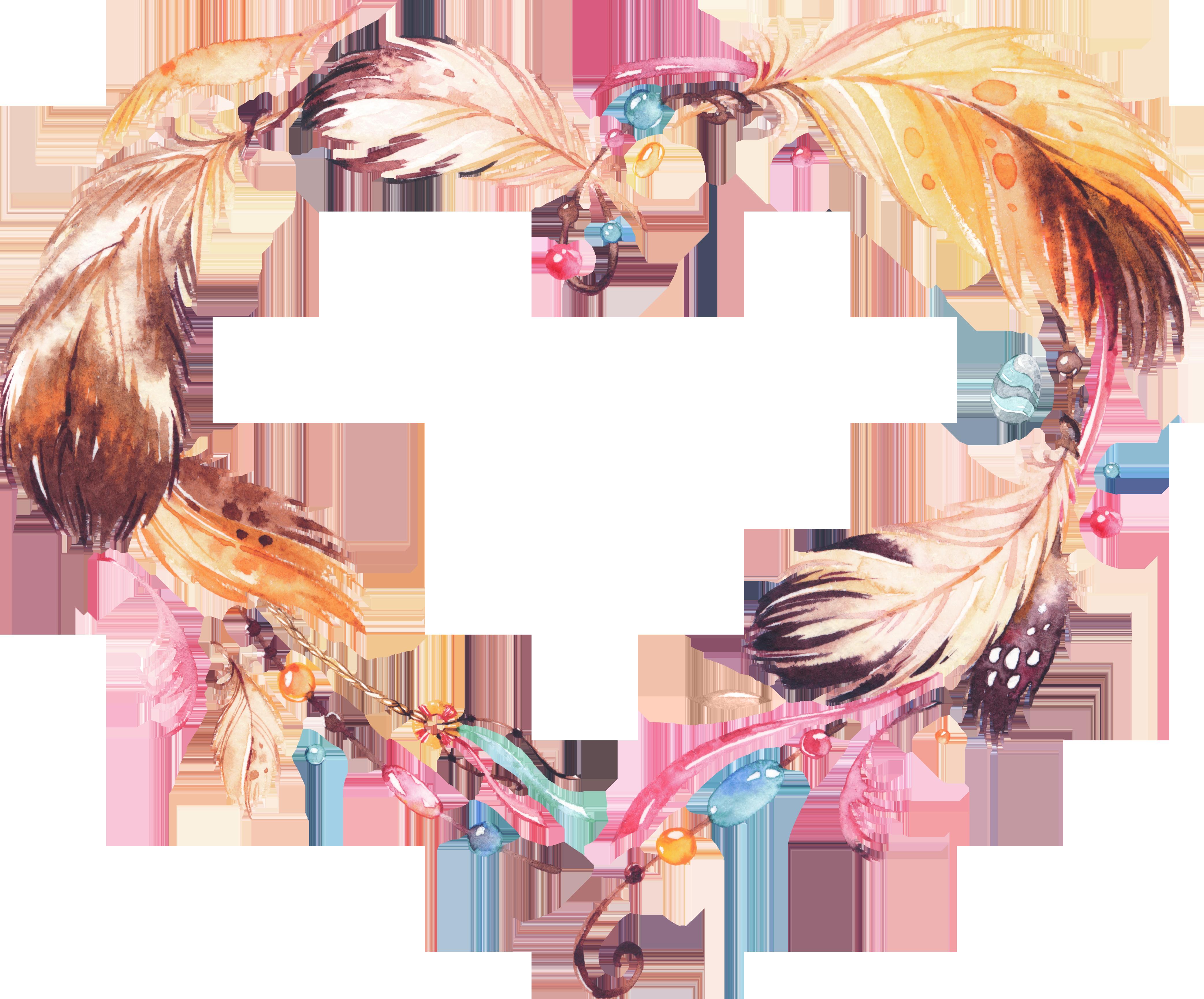 Amulet watercolor painting dreamcatcher. Grape clipart wreath