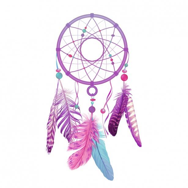 Dreamcatcher clipart purple. Free download clip art