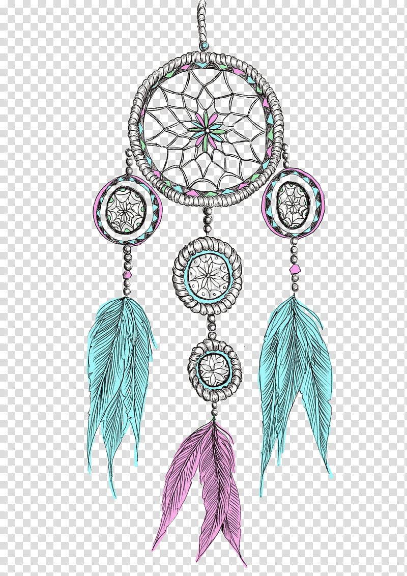Dreamcatcher clipart purple. Gray pink and green