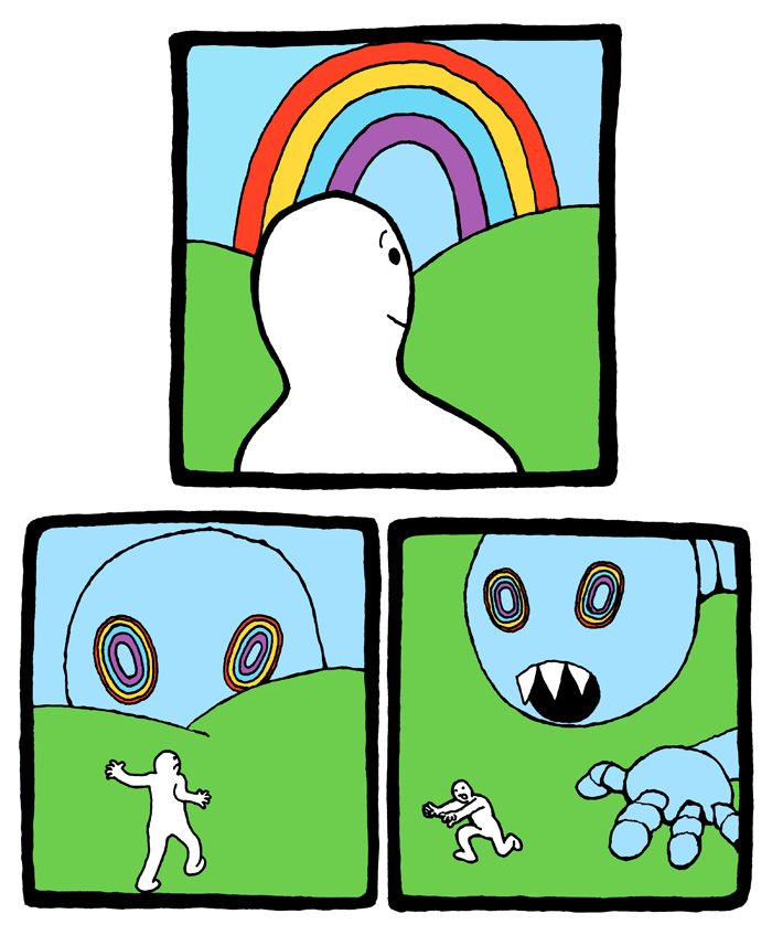Dreamcatcher clipart rainbow. The perry bible fellowship