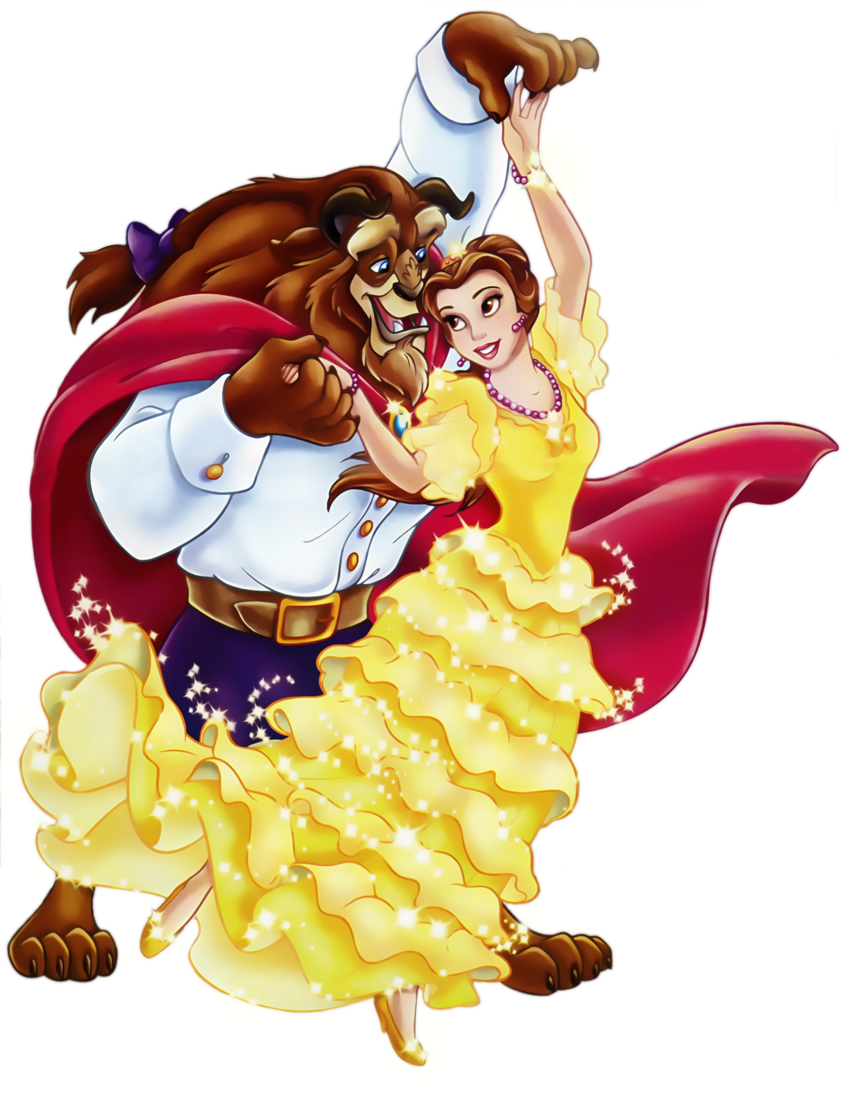 Youtube clipart beauty. And the beast png