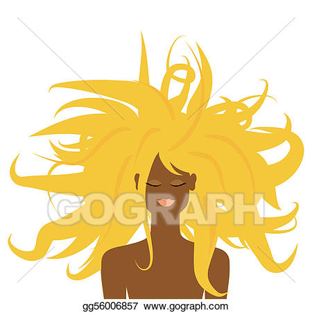 Vector art girl for. Dreaming clipart beautiful