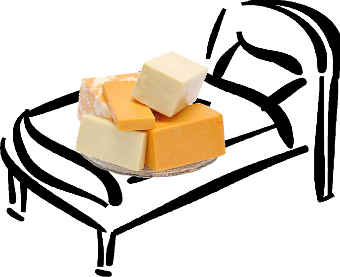 Dreaming clipart bedtime. Cheese and dreams what